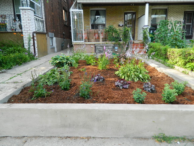 Toronto garden makeover Bloordale after by Paul Jung Gardening Services--a Toronto Ecological Gardening Company
